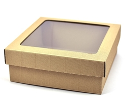 Gift box with transparent lid - kopie